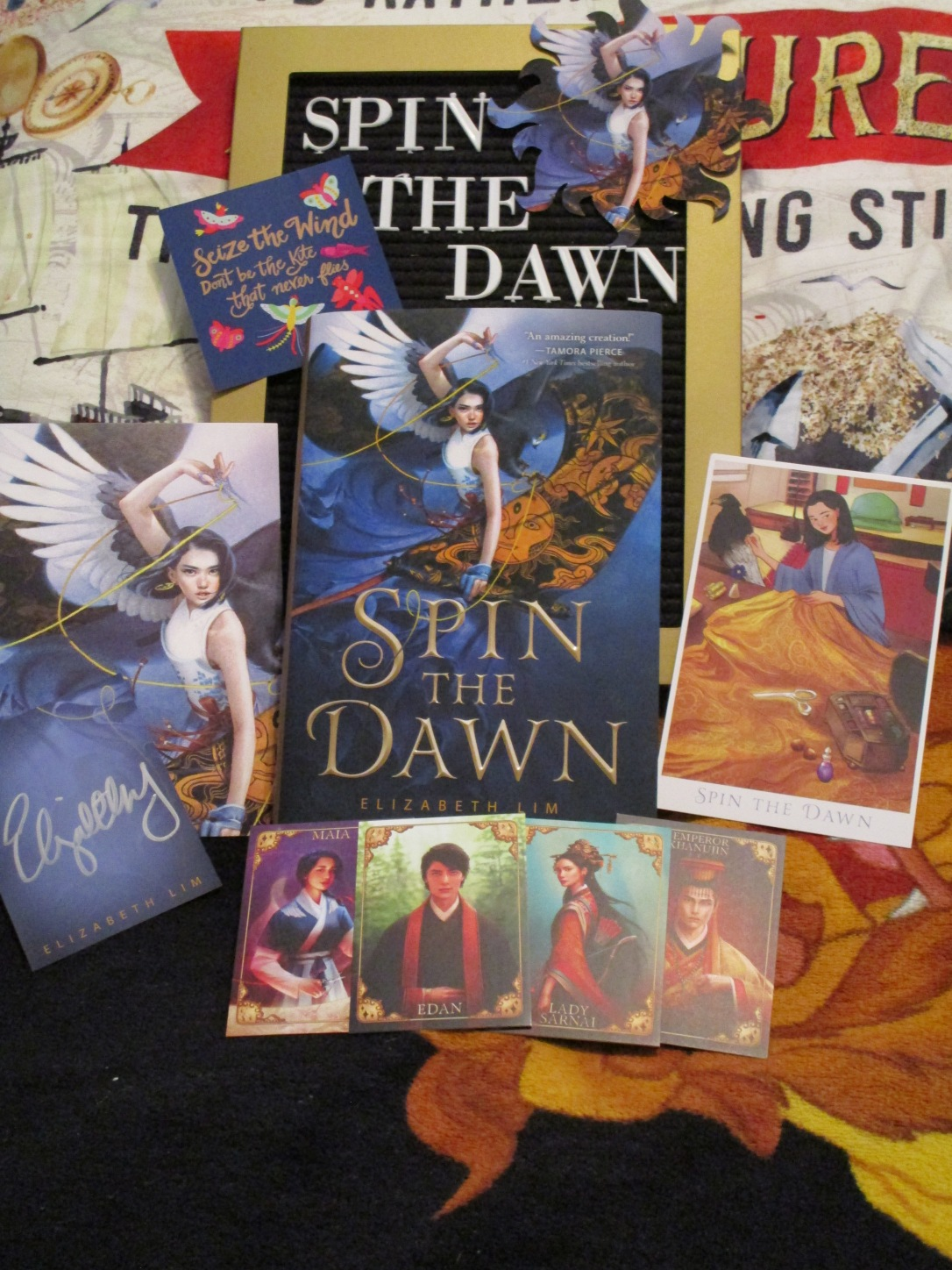 Spin the Dawn post